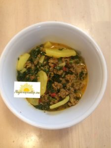 Ground Beef Potato And Kale Soup Aliyah S Recipes And Tips