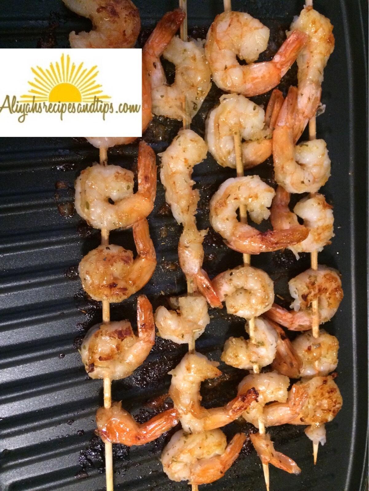 Grilled shrimps (2)