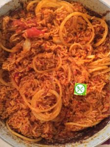 Jollof rice, African food in US