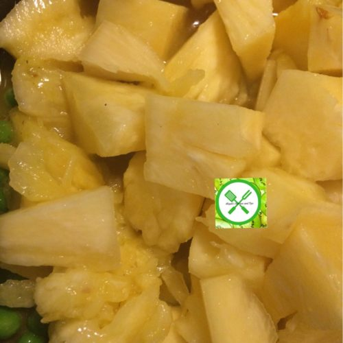 Pineapple Chicken Curry add pineapple