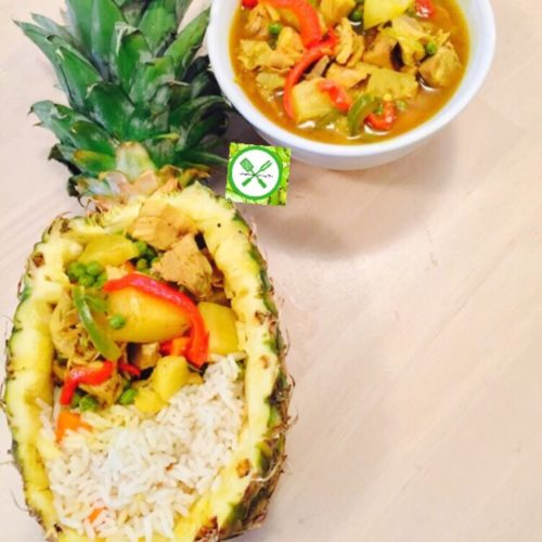 Thai served
