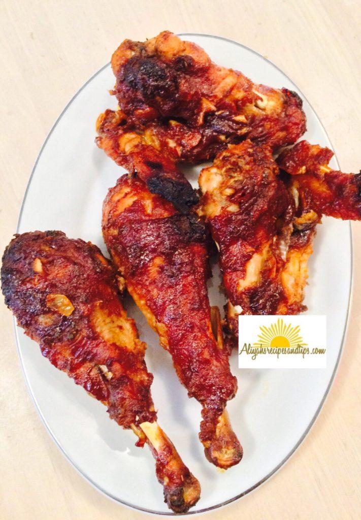 bbq turkey served