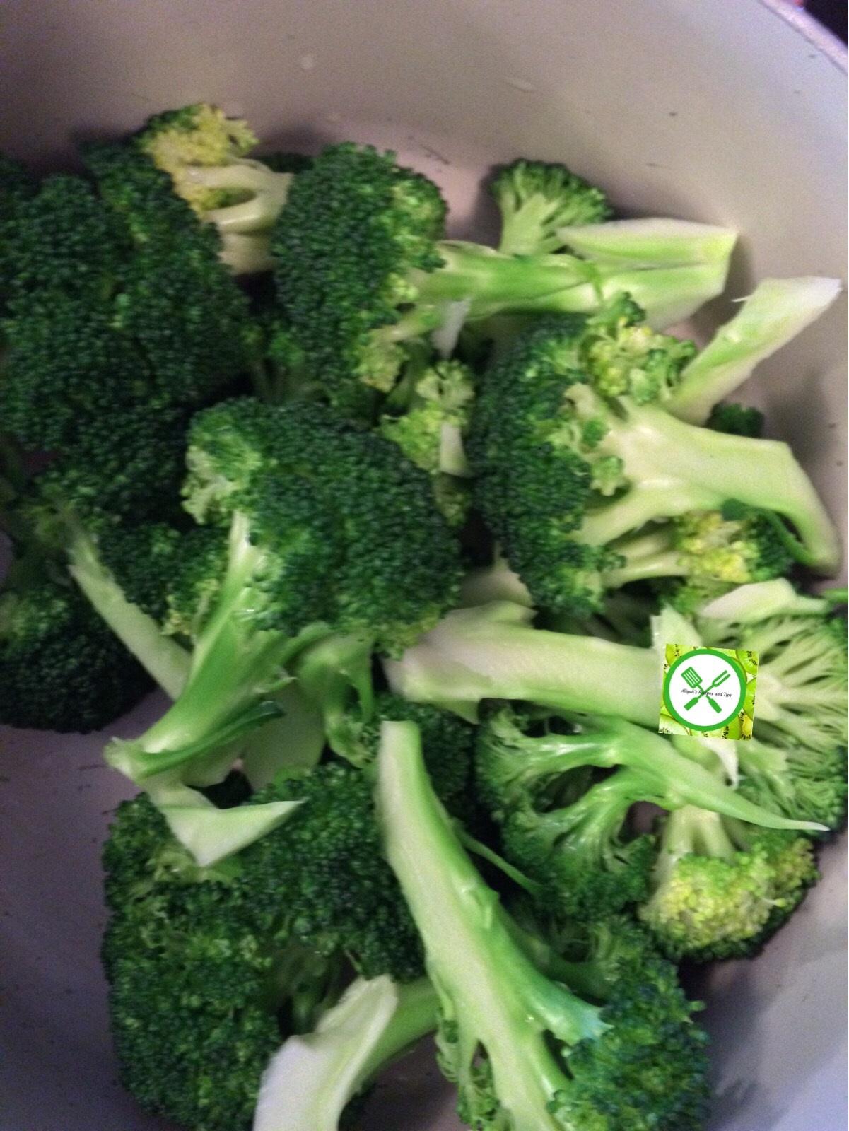 broccoli for stirfry