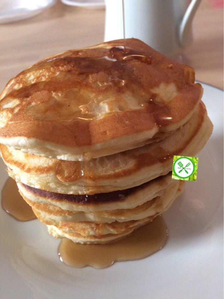 pancake served