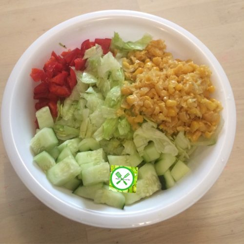 salad prep