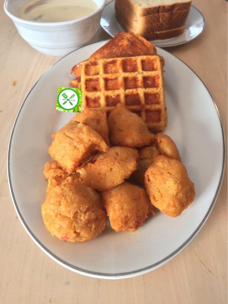 Akara, Nigerian Akara three ways, Akara waffle