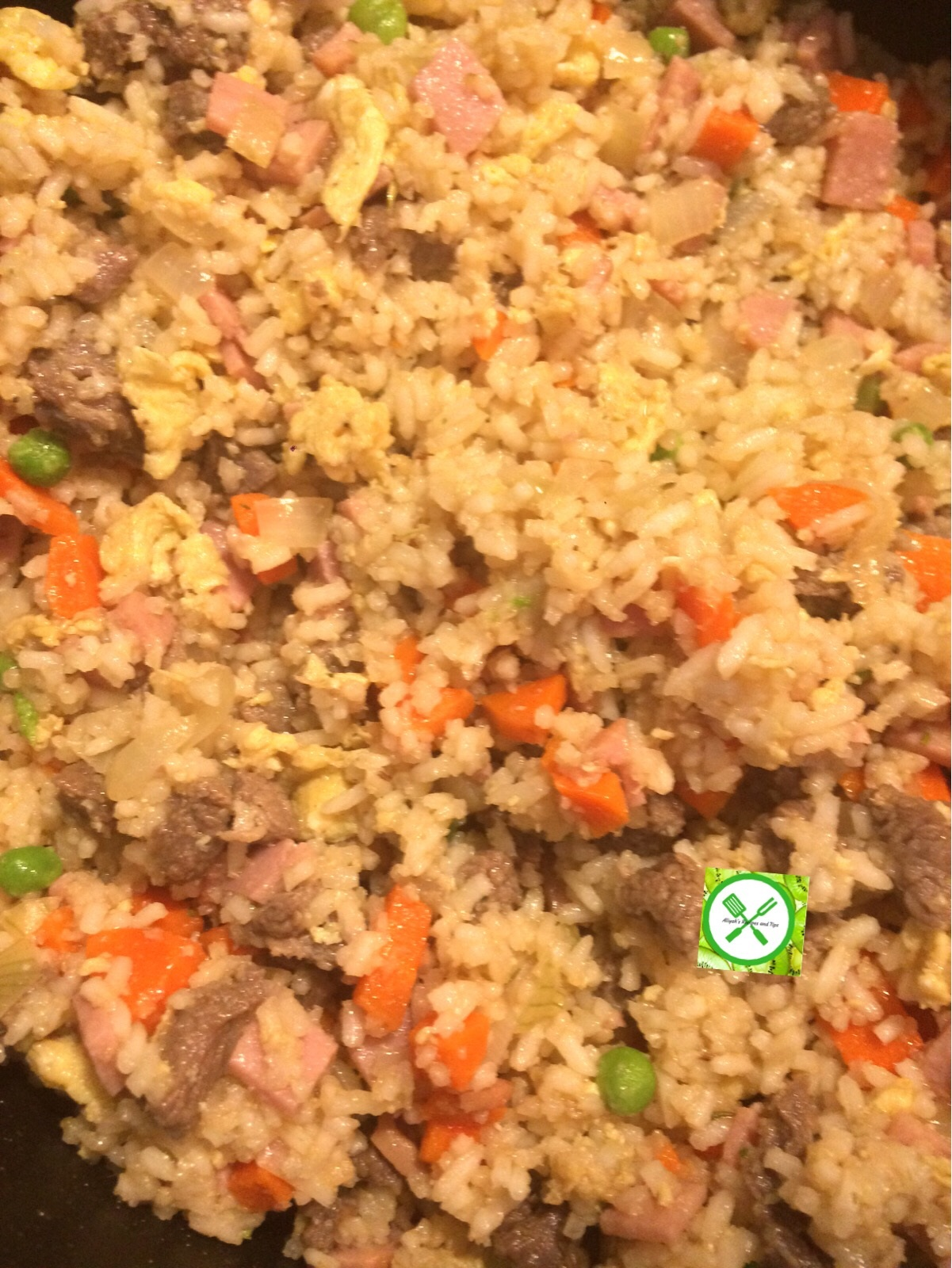 Chinese Fried Rice mix everything
