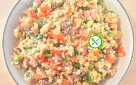 Chinese Fried Rice served