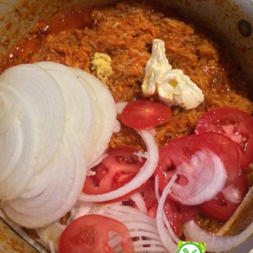 Nigerian jollof rice, jollof rice, party jollof rice, party rice, African party rice