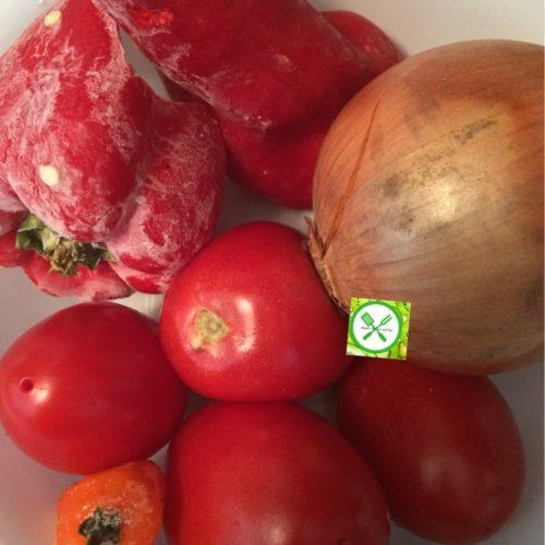 Nigerian chicken Stew pepper