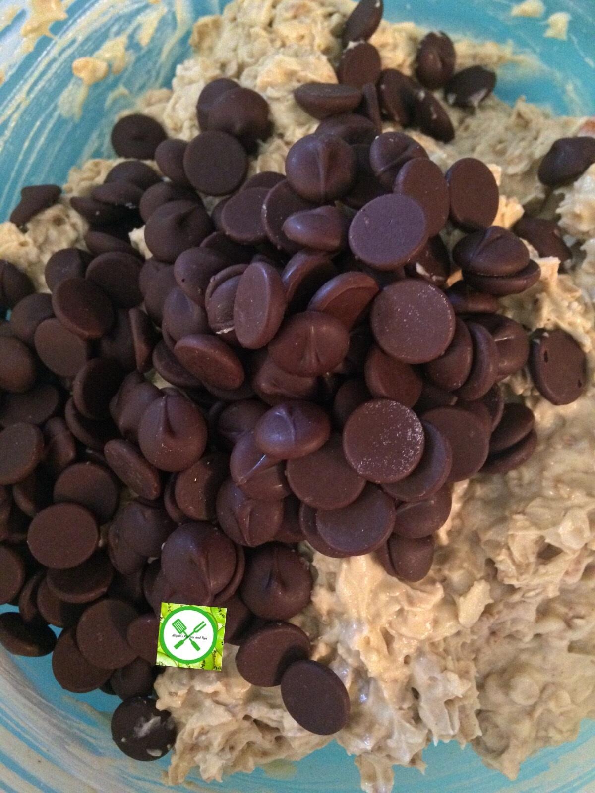 Oatmeal choco add choco