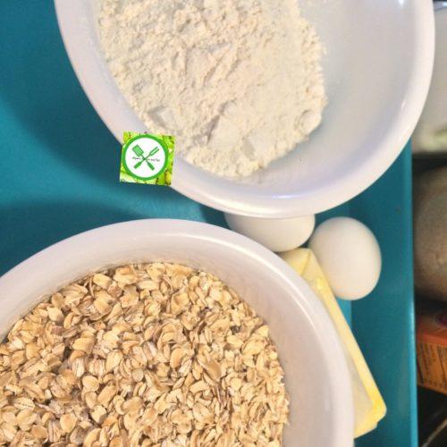 Oatmeal choco ingredients