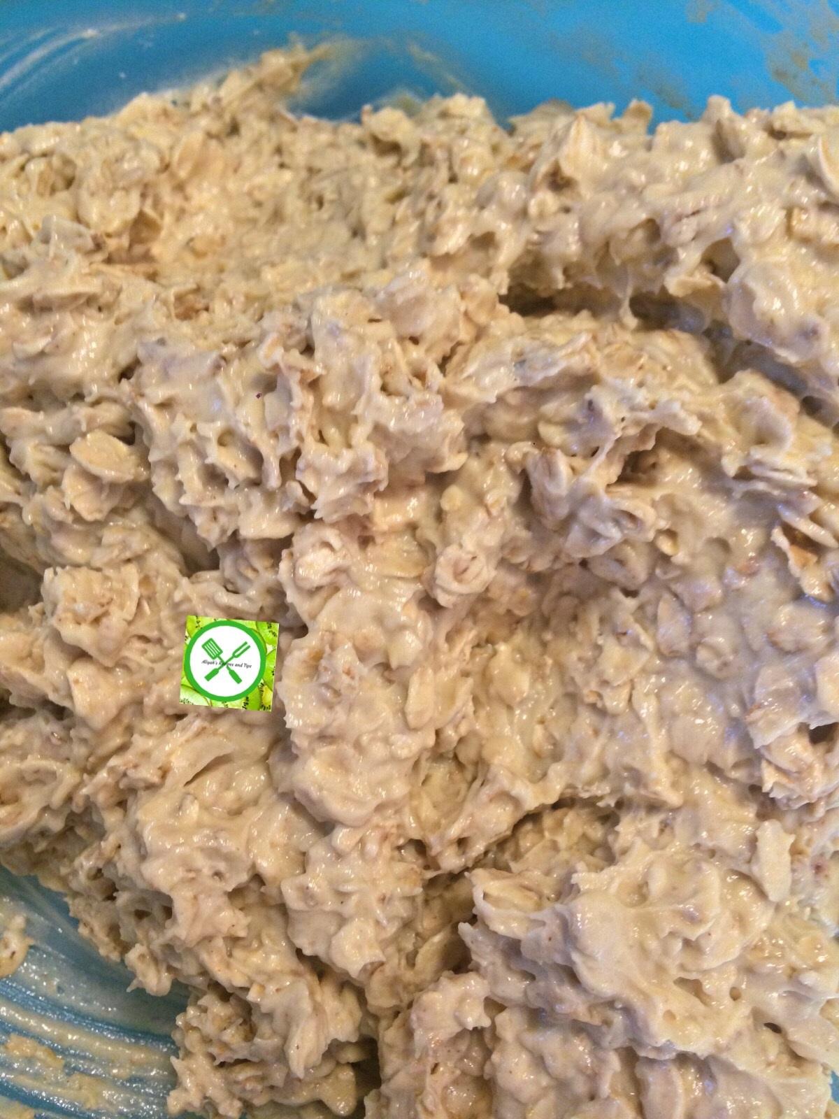 Oatmeal choco mixed