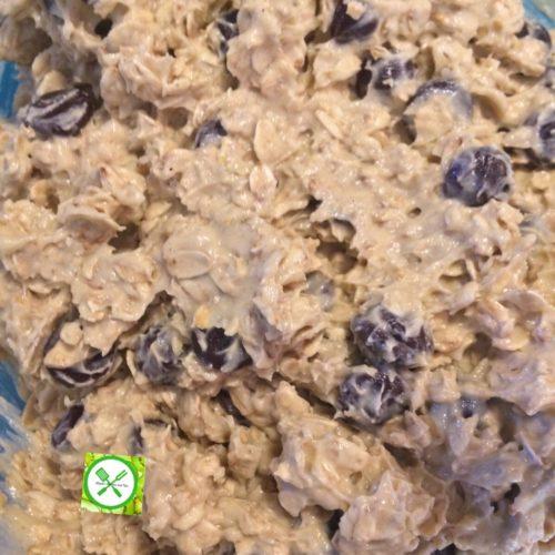 Oatmeal choco mixture