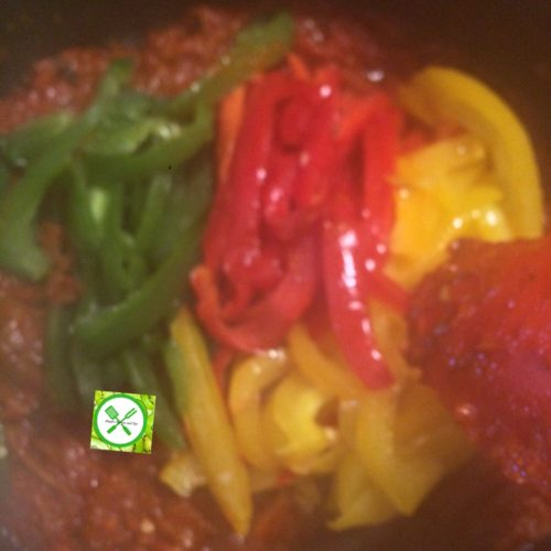 Shi gizdodo add sliced pepper
