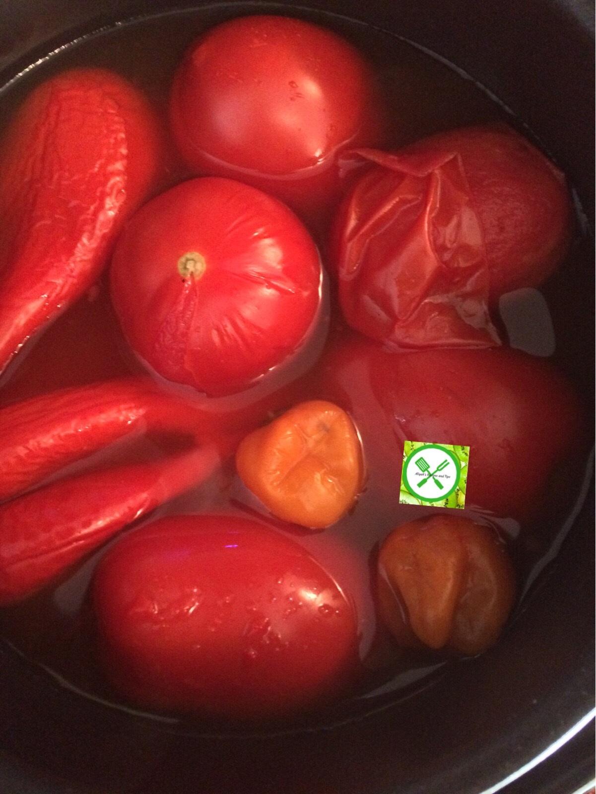 Turkey stew pepper