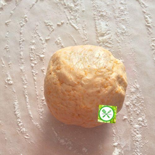 cheddar cheese cracker dough