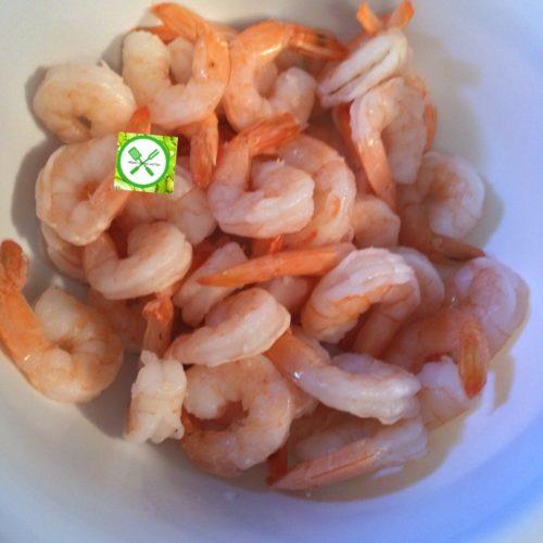 Bang bang shrimps raw