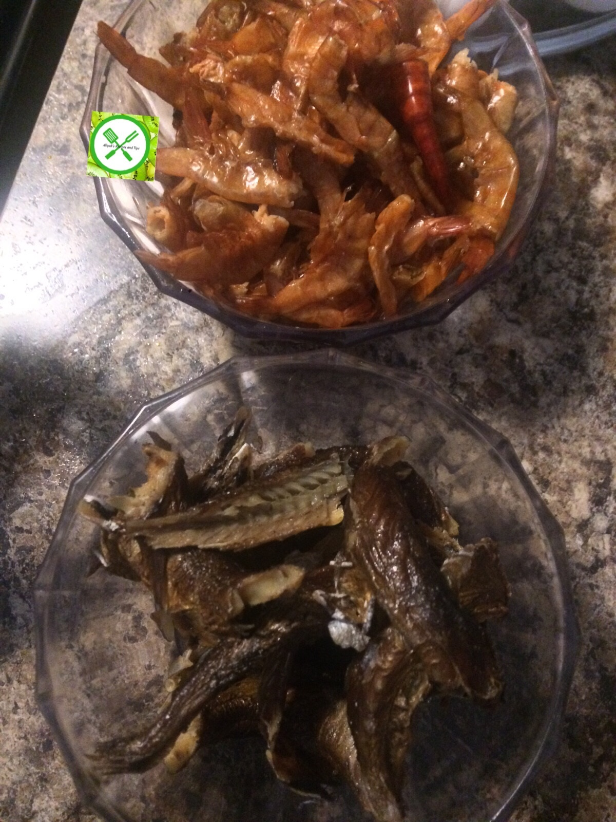 Fried fish palm oil stew aliyah 39 s recipes and tips for Oil for frying fish