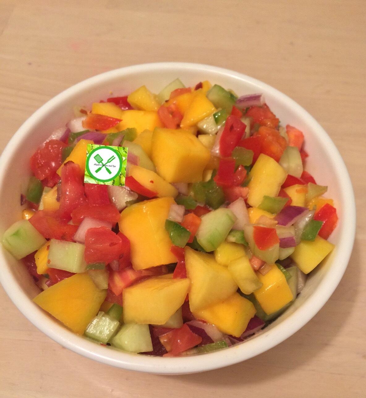 Mango salsa ready