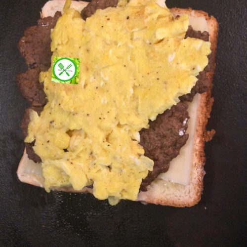 patty melt add egg