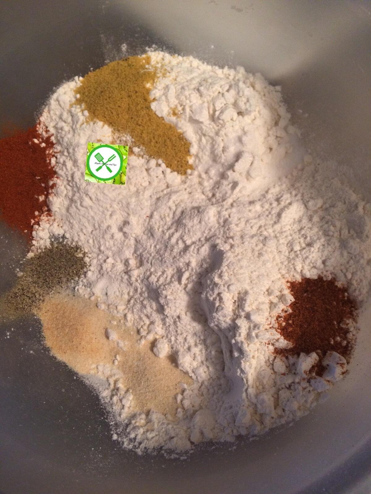 Crispy Buttermilk chi flour
