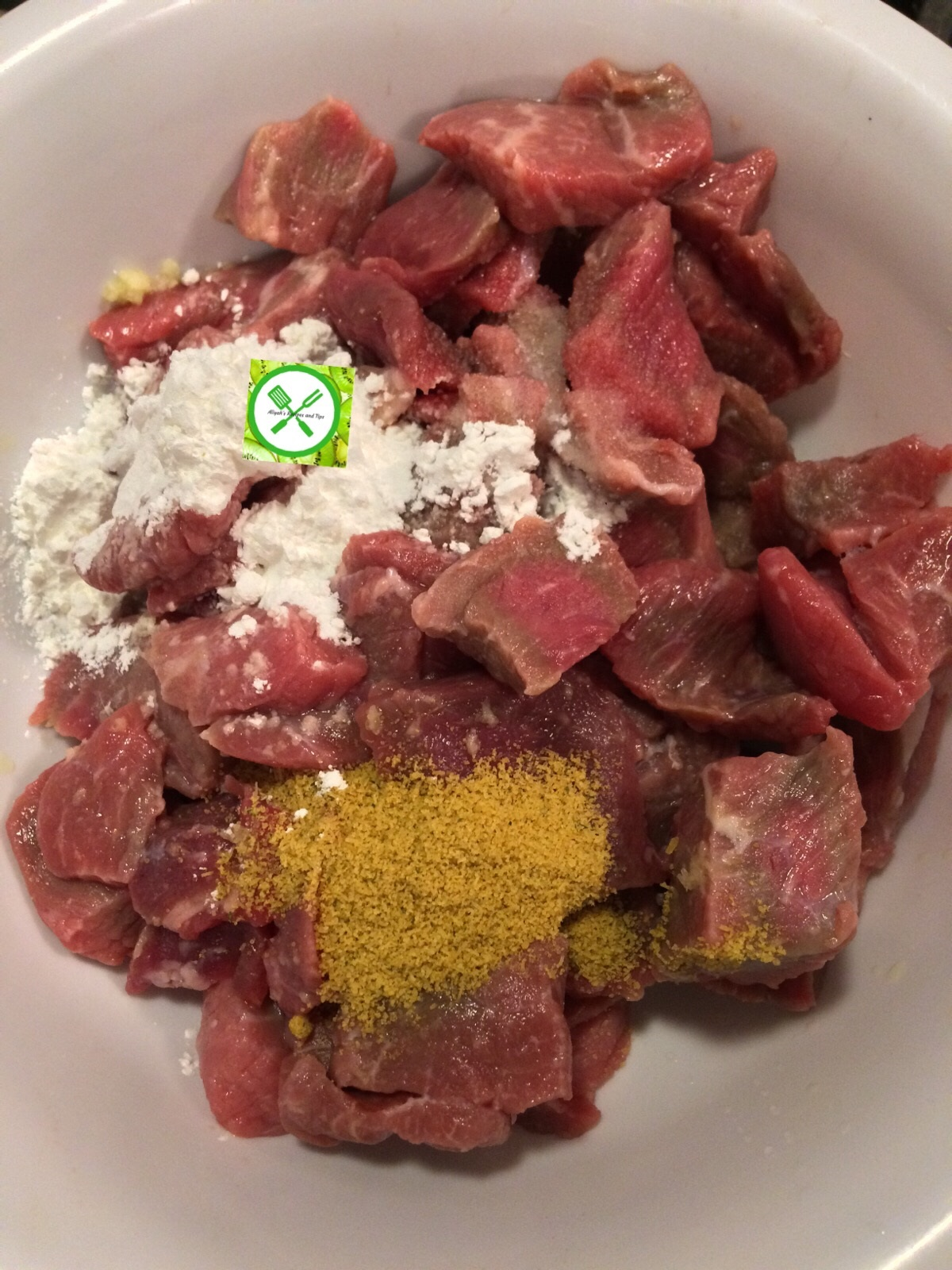 Easy beef and broccoli add seasoning