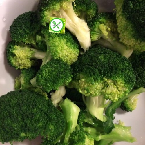 Easy beef n broccoli blanched broccoli