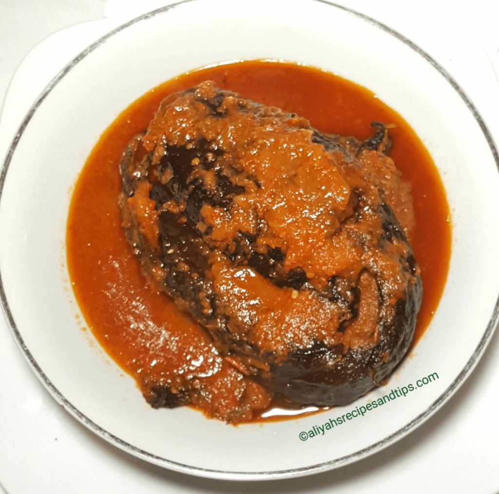 Dried fish, obe ata, Nigerian dried fish soup, Nigerian dried fish stew