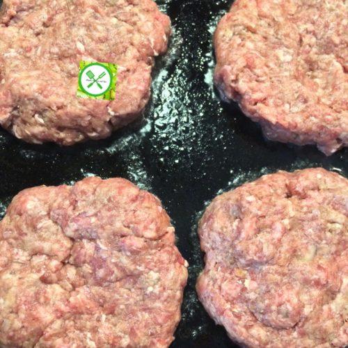 burger cook patties