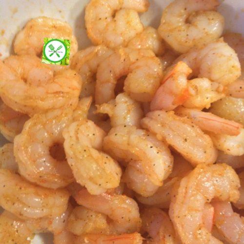 shrimp tacos seasoned shrimp