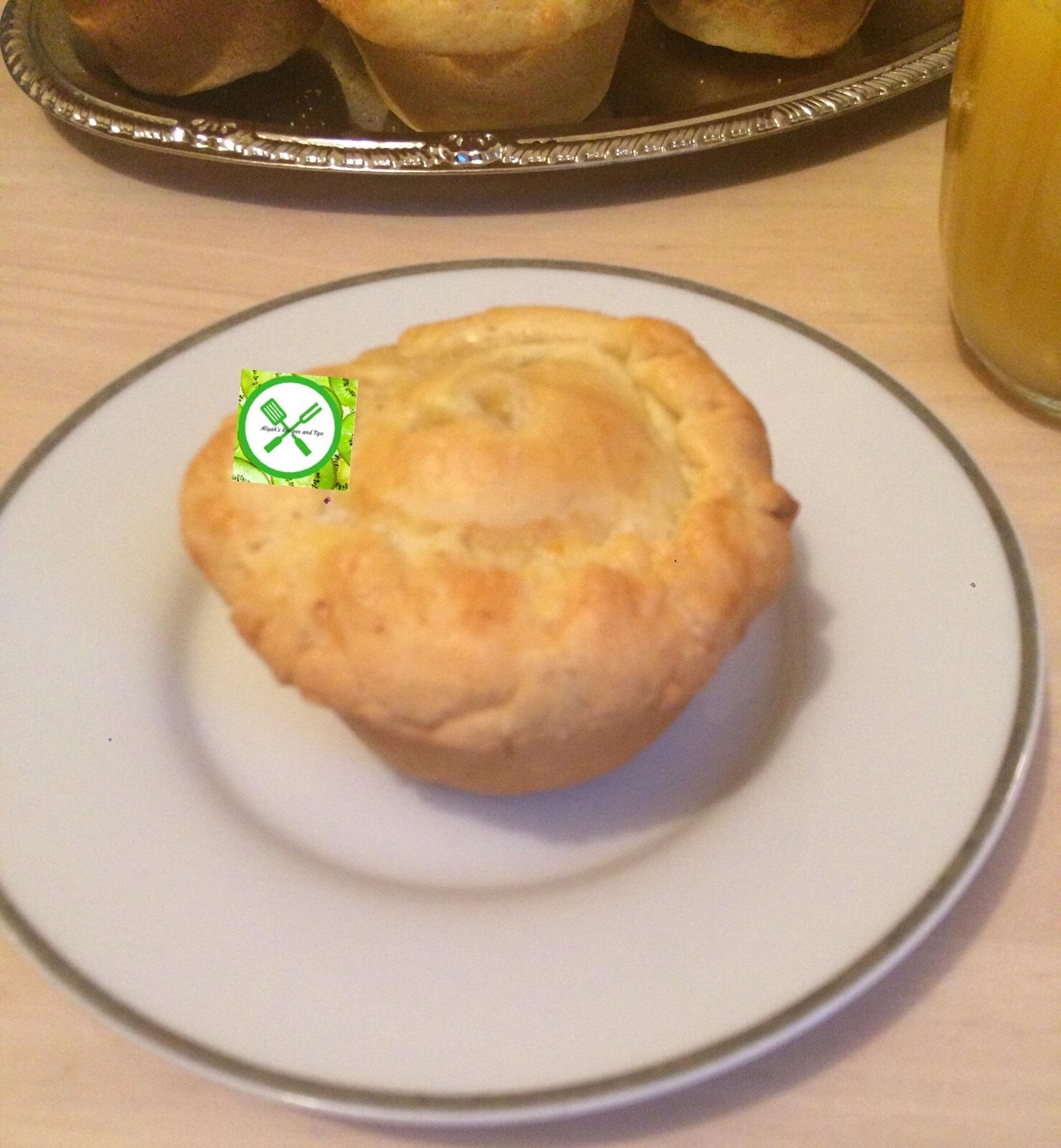 Muffin apple pie