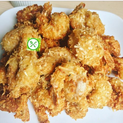 coconut fried shrimp, dipping sauce, recipe, food, easy, shreded coconut, rice, curry, dinner, shrimp, Thai, creamy, coconut fried shrimp, easy coconut shrimp, coconut shrimp, coconut fried shrimp