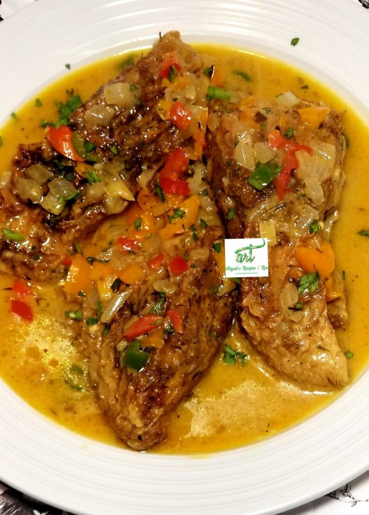 curry, fish, curry fish, tilapia fish, African, African Sauce, coconut sauce, fish