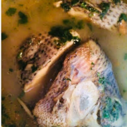 Tilapia fish peppersoup