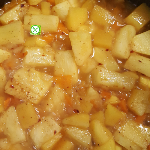 Pineapple and Mango Chutney