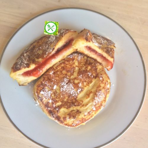 Jelly french toast