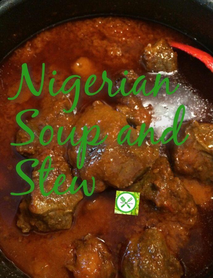 Nigerian stews