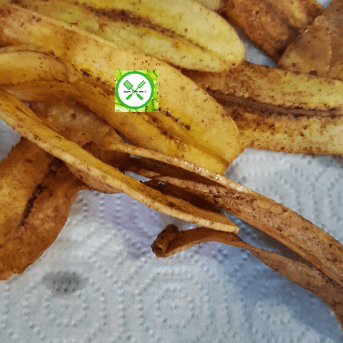 Spicy plantains chips