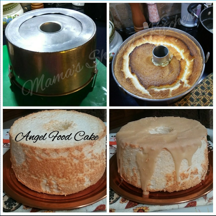Angel Food cake, how to make angel cake, how to bake angel food cake