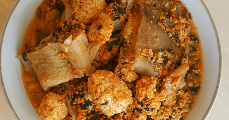 Egusi soup without oil