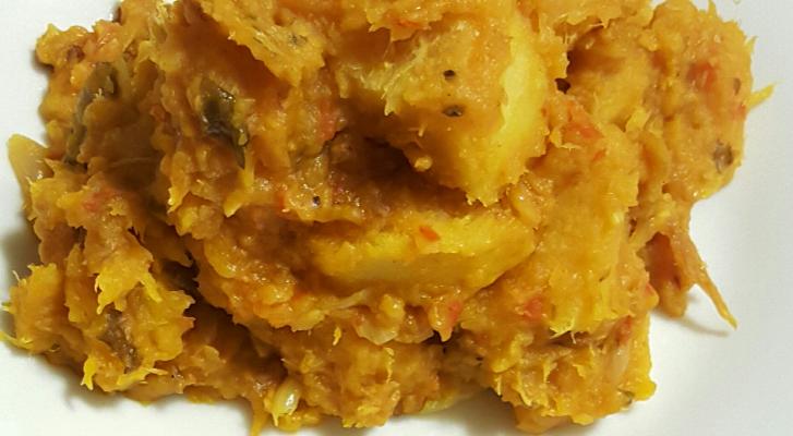 Asaro- yam porridge (pottage)