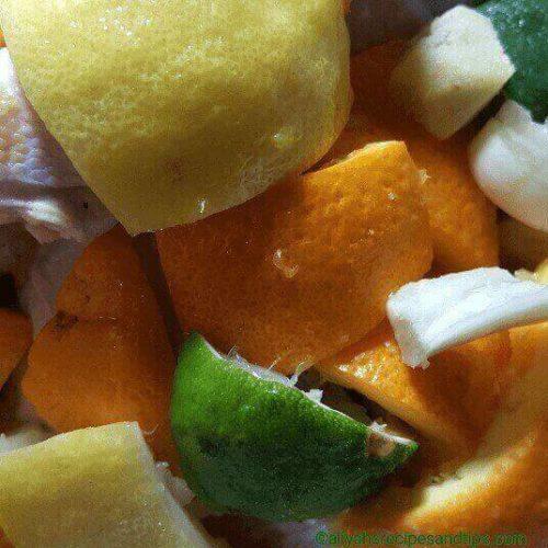 Citrus drumstick chicken