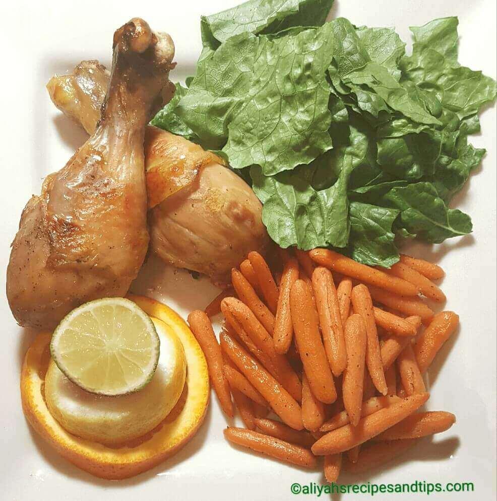 Citrus drumstick chicken, how to make citrus chicken