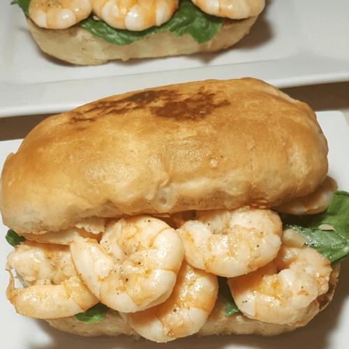Shrimps rolls