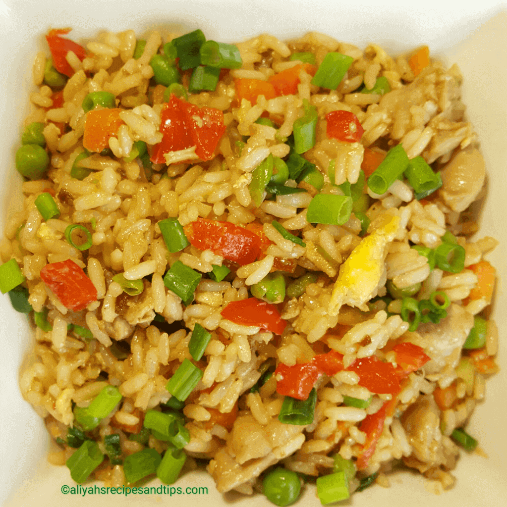 Teriyaki rice bowl