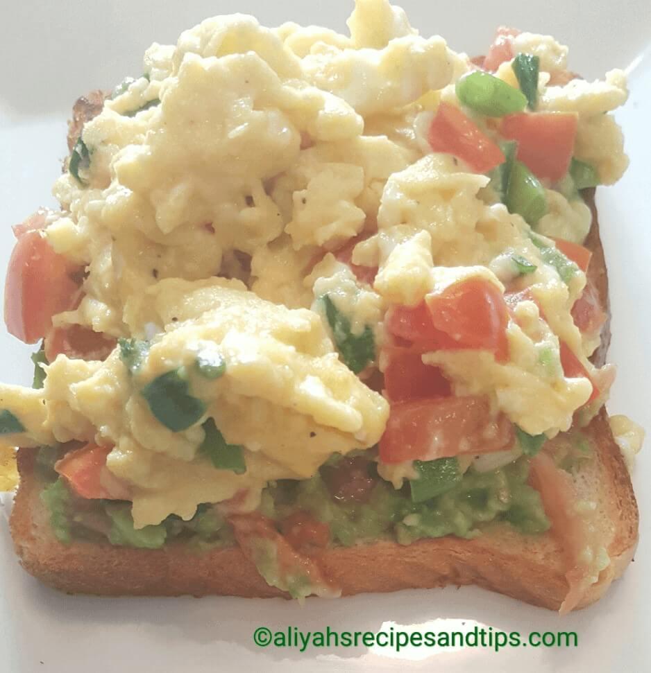 Easy Scrambled Eggs, how to make scrambled eggs, best scrambled eggs, Columbia scrambled eggs