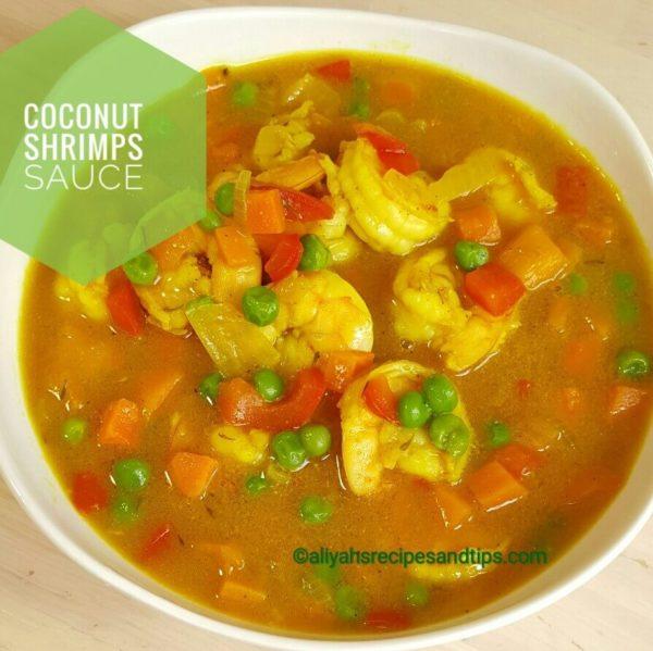 coconut shrimp sauce