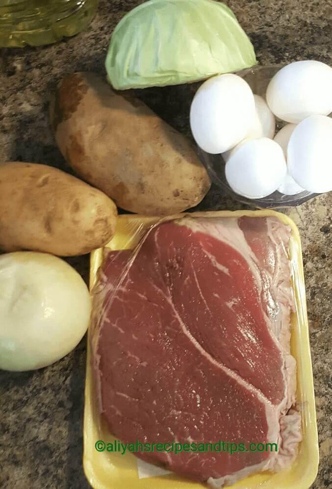 Roast beef hash, Roast beef hash with egg, Roast beef hash for breakfast, how to make roast beef hash , how to make roast beef with egg