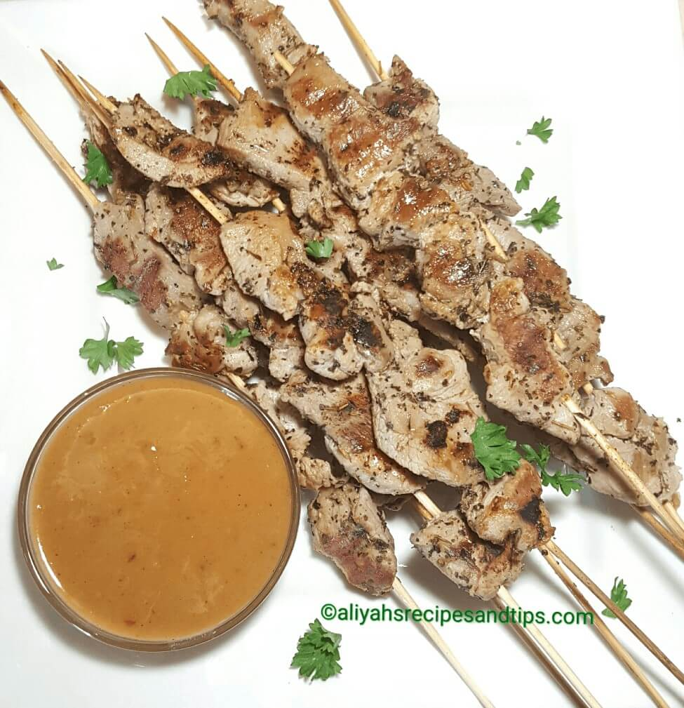 Turkey sticks, how to make turkey skewer, turkey skewers, turkey satay, how to make turkey skewers, Herb Grilled Turkey